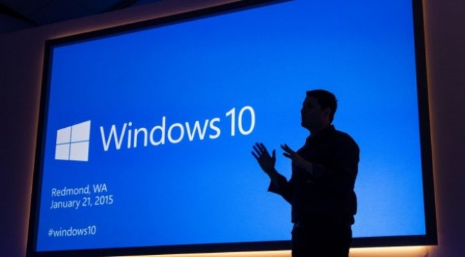 Januar 2015: Windows 10 wird vorgestellt (Bild: Microsoft)