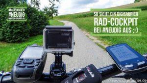#NeuDig Reise Fahrrad Cockpit