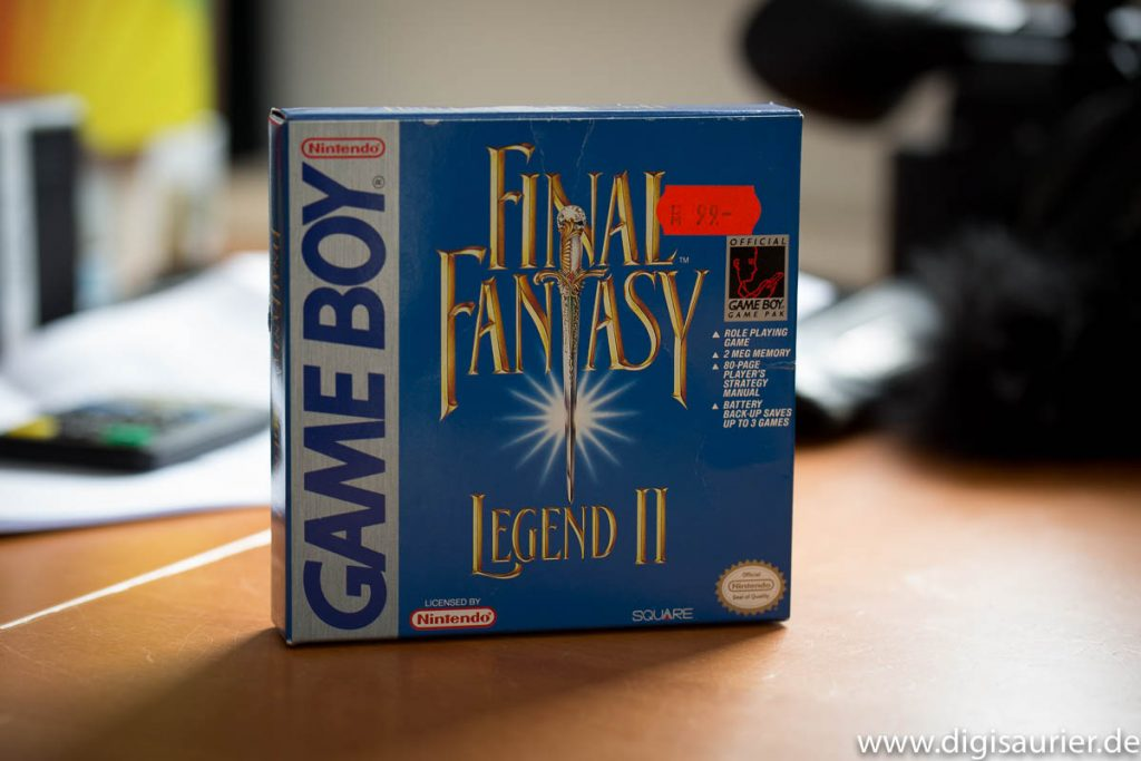 99 Mark - Final Fantasy Legend II war nicht billig, aber jede Mark wert.