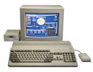 Ein früher Amiga 500 in Vollausstattung