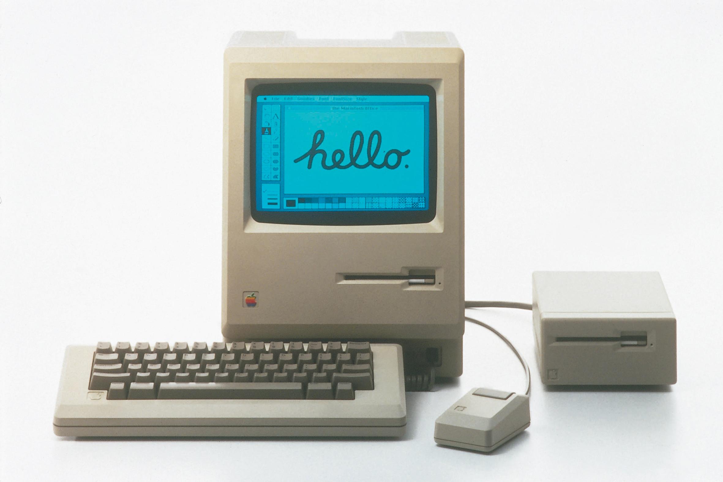 Der erste Macintosh von 1984