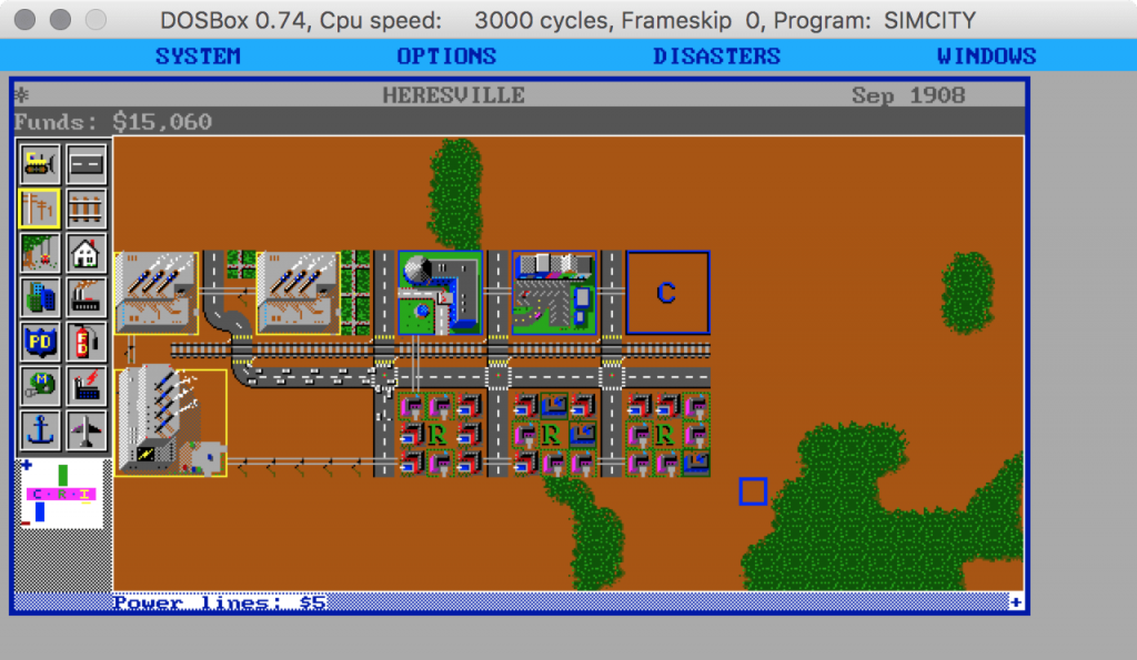 Klötzchen als Konzept: Sim City ist der Klassiker der Aufbau-Simulationen.