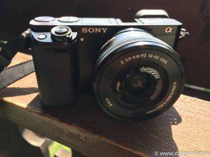 Kameratechnik - mit dieser Sony Alpha 6000 entstanden Fotos. Aber auch Videos. Kompakte Technik war wichtig.
