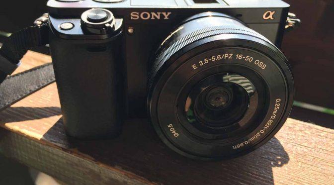 Sony Alpha 6000 – unsere Reisekamera