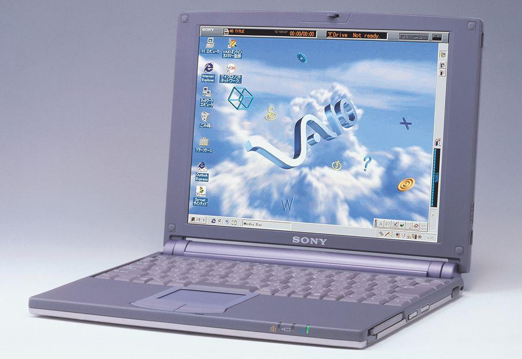 Sony Vaio PCG-505 - für kurze Zeit ein Kultcomputerchen (Foto: Sony)
