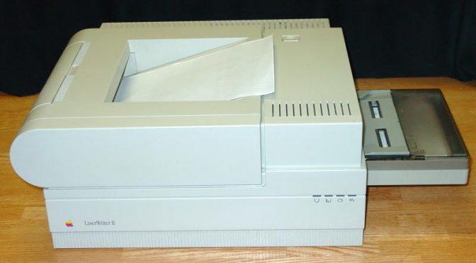 Kleine Weltgeschichte des Computerdruckers (2): Über Laserdrucker und Seitenbeschreibungssprachen