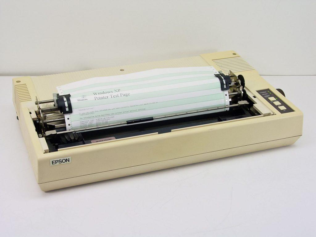 Der König der 9-Nadeldrucker: Epson FX-100