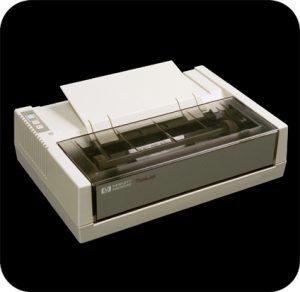 HP Thinkjet - der Pionier unter den Tintenstrahldrucker