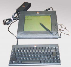 Der Momenta Pen Computer von 1991 - Shiraz Shivjis Lieblingskind