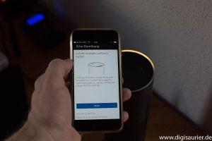 Smartphone-Installation von Amazon Echo