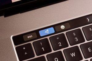 Senden Button in Touchbar