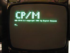 Legendär: Der Startbildschirm eines CP/M-Systems