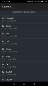 Und das sind die Befehle, mit denen Alexa das RM Pro ansteuert