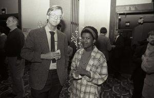 Peter Norton und seine erste Gattin Eileen