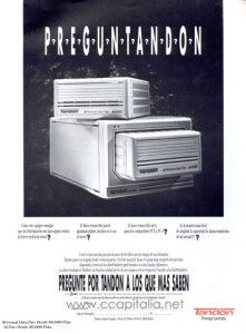 Werbung für ein Tandon-DataPac-Laufwerk (ca. 1987)