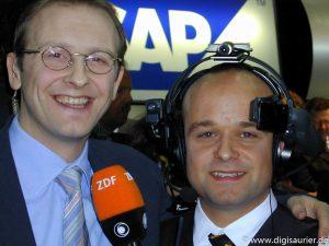Frank Bethmann - einer der regelmäßigen Partner für mich als ZDF Computer-Experte