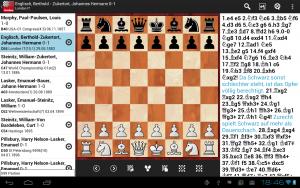 Die gute, alte ChessBase - gibt's auch als App