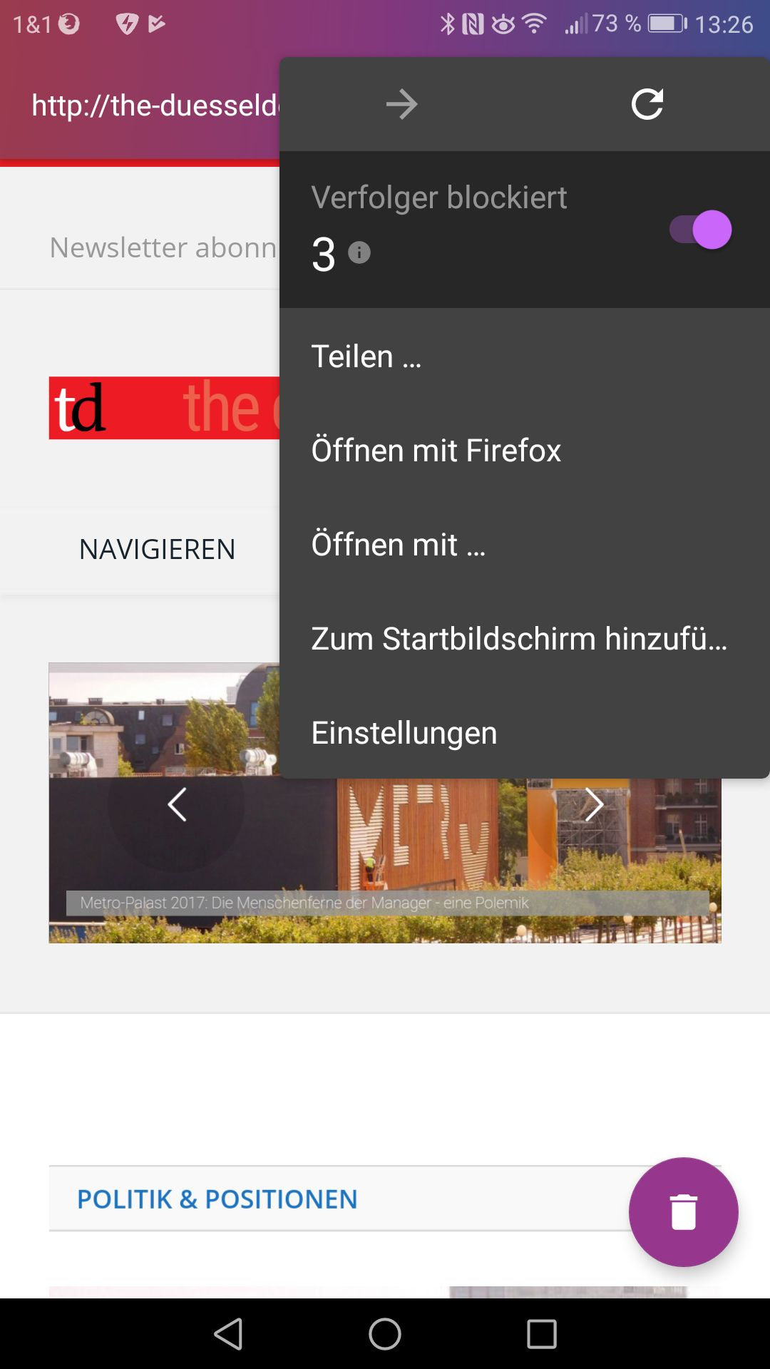 Beste Browser Android