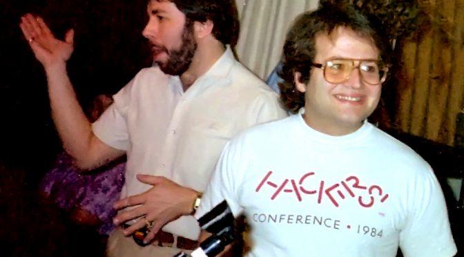 Andy Hertzfeld (rechts) und Steve Wozniak, ca. 1985 (Foto: Wikimedia)