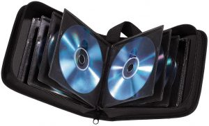 Ein Klassiker: Das CD-Mäppchen für den Musikgenuss im Auto