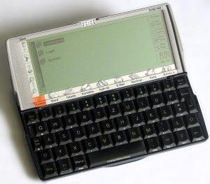 Ein Psion Organiser der 5mx-Reihe (Foto: Wikimedia)