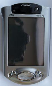 Compaq iPaq, der Pocket PC (Foto: Wikimedia)