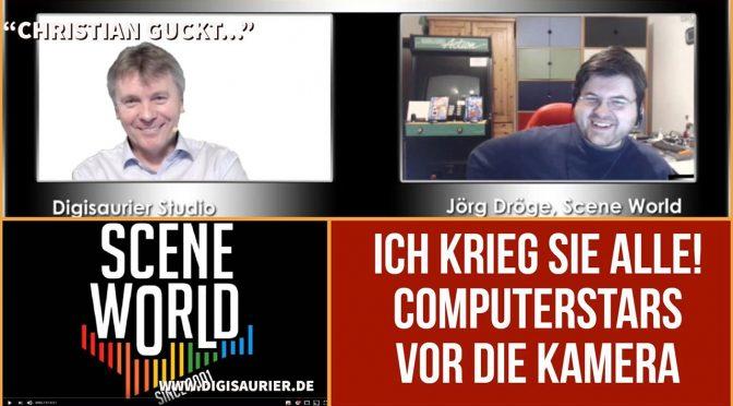Früher oder später krieg ich sie alle – Joerg Droege der Interview-Star der Retroszene