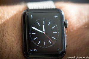 Ziffernblatt der Apple Watch