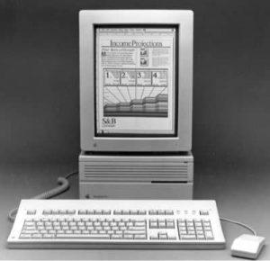 Apple Portrait Display, der Hochkante