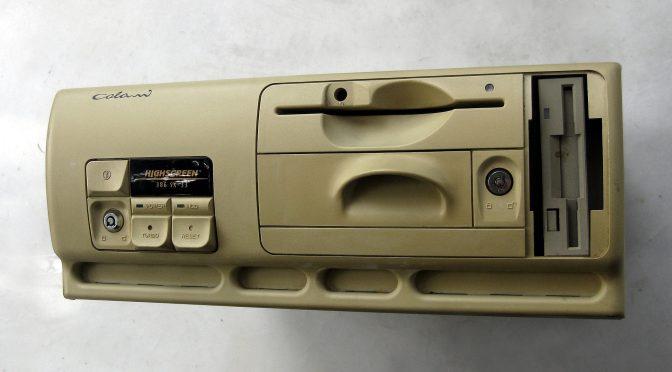 Der Vobis Colani-PC: Biomorpher Rechner - so einen hatte ich zwischendurch auch mal (Foto: Vobis)