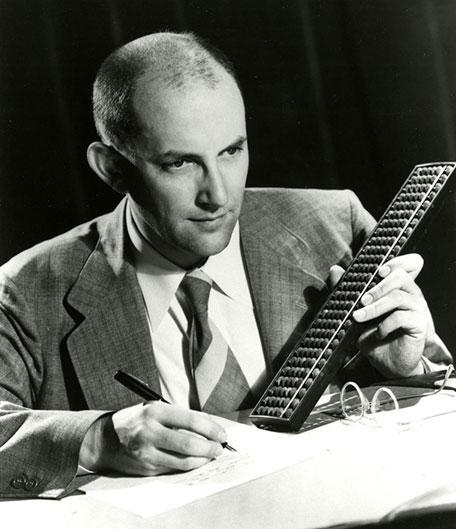 Edmund C. Berkeley, der Vater des Homecomputers (Foto: University of Minnesota)