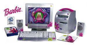 Barbie lernt Computer - Mattel 1998 (Foto: www.format.com)