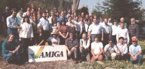 Das Amiga-Team von 1985 - Jay ganz rechts außen