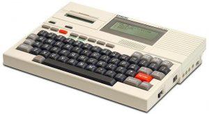 Epson HX - 8 Bit, Drucker integriert (Foto: Steven Stengel, oldcomputers.net via Wikimedia)