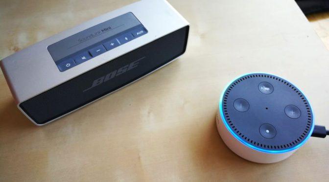 Alexa an Bose, Alexa an Bose, bitte kommen!