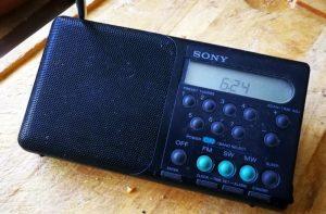 Der Original-Sony-Küchen-Weltempfänger - ganz analog