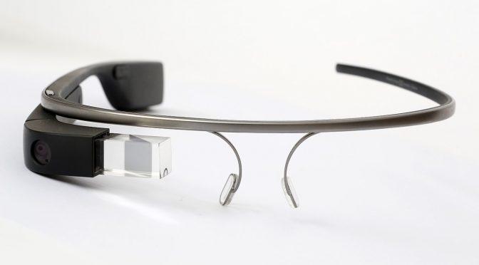 Die echte Google-Glass-Brille (Foto: Wikimedia)