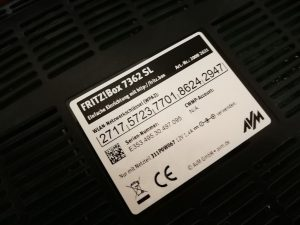 Der initiale WPA-Schlüssel einer Fritzbox