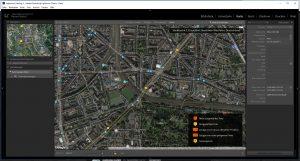 Geodaten werden - falls vorhanden - ausgewertet und füttern die Kartenansicht