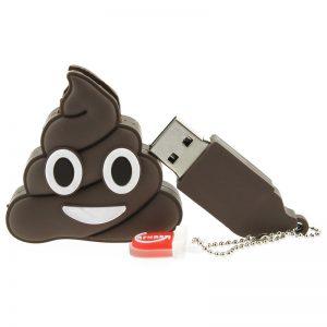 Originelle Verpackung: Der USB-Stick als Emoji