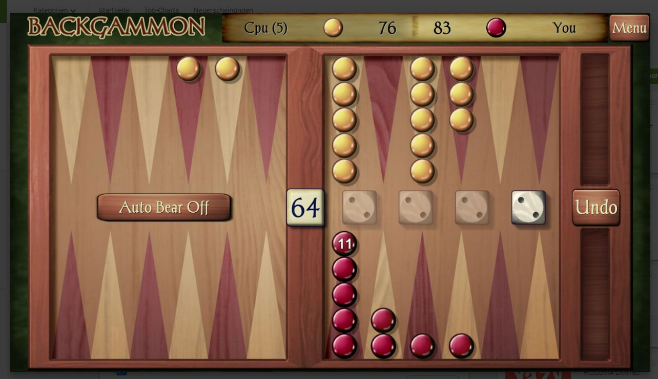 Backgammon App