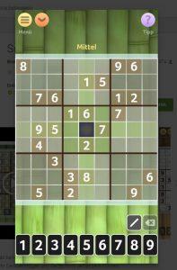 Eine feine Sudoku-App von Brainium