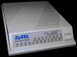 ZyXEL_Elite, ein Modem-Traum (Foto: Wikimedia)
