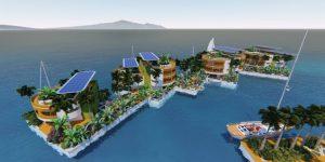 So stellt sich Thiel die Zukunft der Reichen vor (Foto: Seasteading.org)