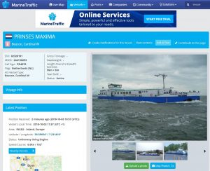 Die Schiffsdatenbank von MarineTraffic - für Shipspotter unverzichtbar