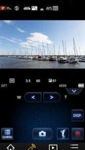 Die Panasonic-Fernsteuer-App - Zugriff auf fast alle Features