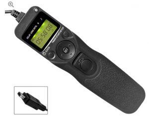 Komfortabler Fernauslöser mit Timer für Nikon-Kameras