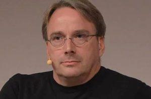 Linus Torvalds entschuldigt sich (Foto: TheRegister)