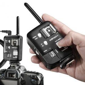 Proprietärer Funkfernauslöser von Wallimex für Canon-Kameras