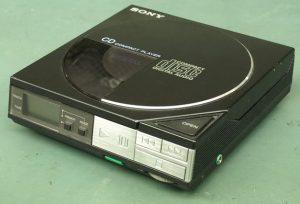 Ein sehr früher Sony-Discman